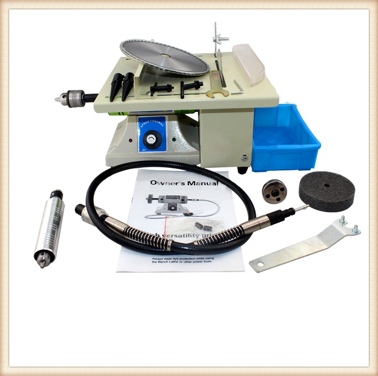 Mini sierra de mesa portátil de trabajo de 220 V máquina de tallado de Jade multifuncional máquina de pulir DIY herramienta