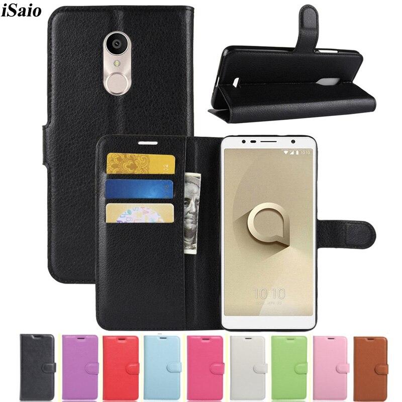 Для Alcatel 3 3C 3V 5026 5026D 5052D 5052Y 5099D Чехол-бумажник кожаный флип-чехол для телефона для Alcatel 3 C V Capa Para TPU Fundas