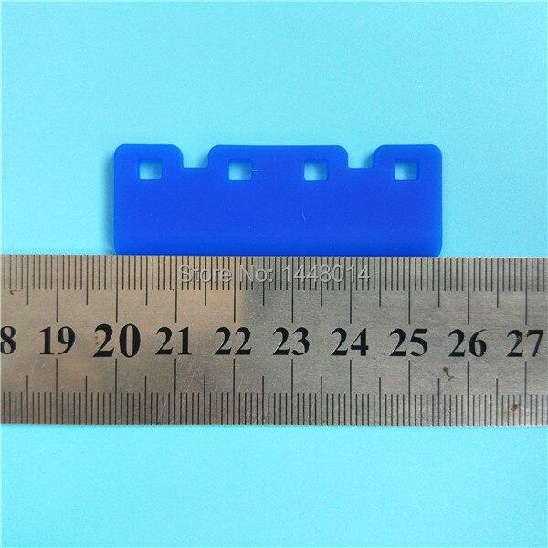 5,5 cm 55mm de largo para el limpiaparabrisas de impresión Epson 5113/impresora solvente ecológica Lecai A-starjet DX7 5113 limpiaparabrisas de cabeza 16 unids/lote