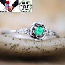 OMHXZJ gros mode européenne femme fille fête mariage cadeau Rose 7 couleurs AAA Zircon Taiyin anneau RR334