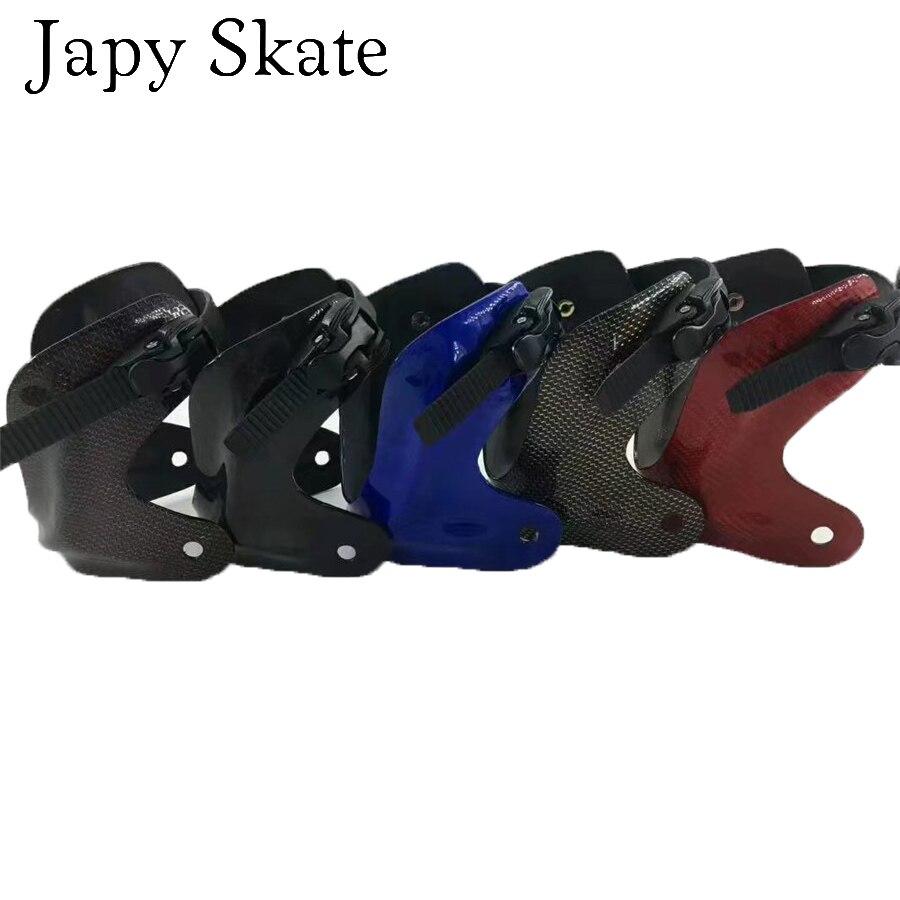 Japy Skate SEBA IGOR KSJ TRIX Carbon Fiber CUFF Set For Inline Skate Kit Include Customize Set Buckle and Trapezoid Belt Patines