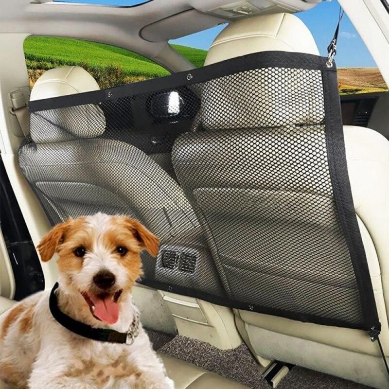 Malla anticolisión para coche, barrera de aislamiento automática para valla de mascotas, barra de aislamiento de seguridad, dispositivo de amortiguación para perros para niños, nuevos suministros para perros