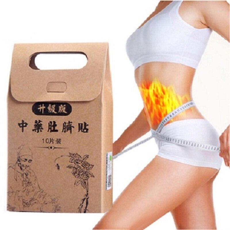 Горячая паста для похудения стикер s Skinny Талия живота сжигание жира патч китайская медицина похудение патч потеря веса пупок стикер DFA
