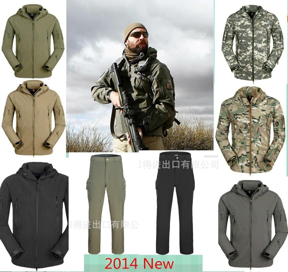 Hohe Qualität Lurker Shark Haut Soft Shell TAD V 4,0 outdoor militärische taktische Jacke wasserdicht winddicht Sport Armee Kleidung