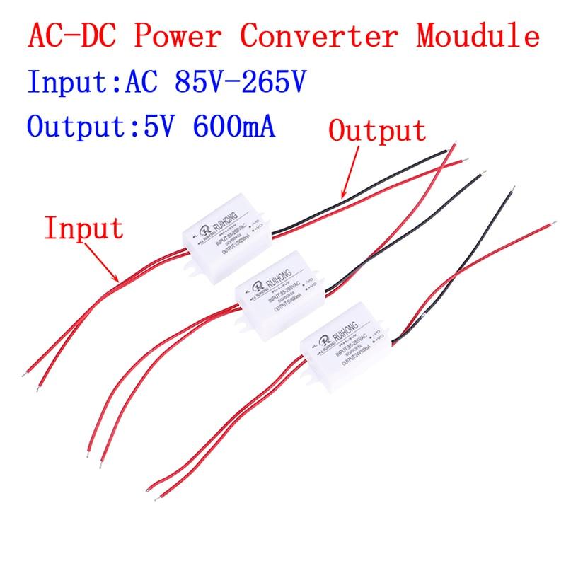 1 PC, venta al por mayor, AC-DC módulo de fuente de alimentación AC 110V 220V 230V a DC 5V 12V 24V Mini convertidor Buck
