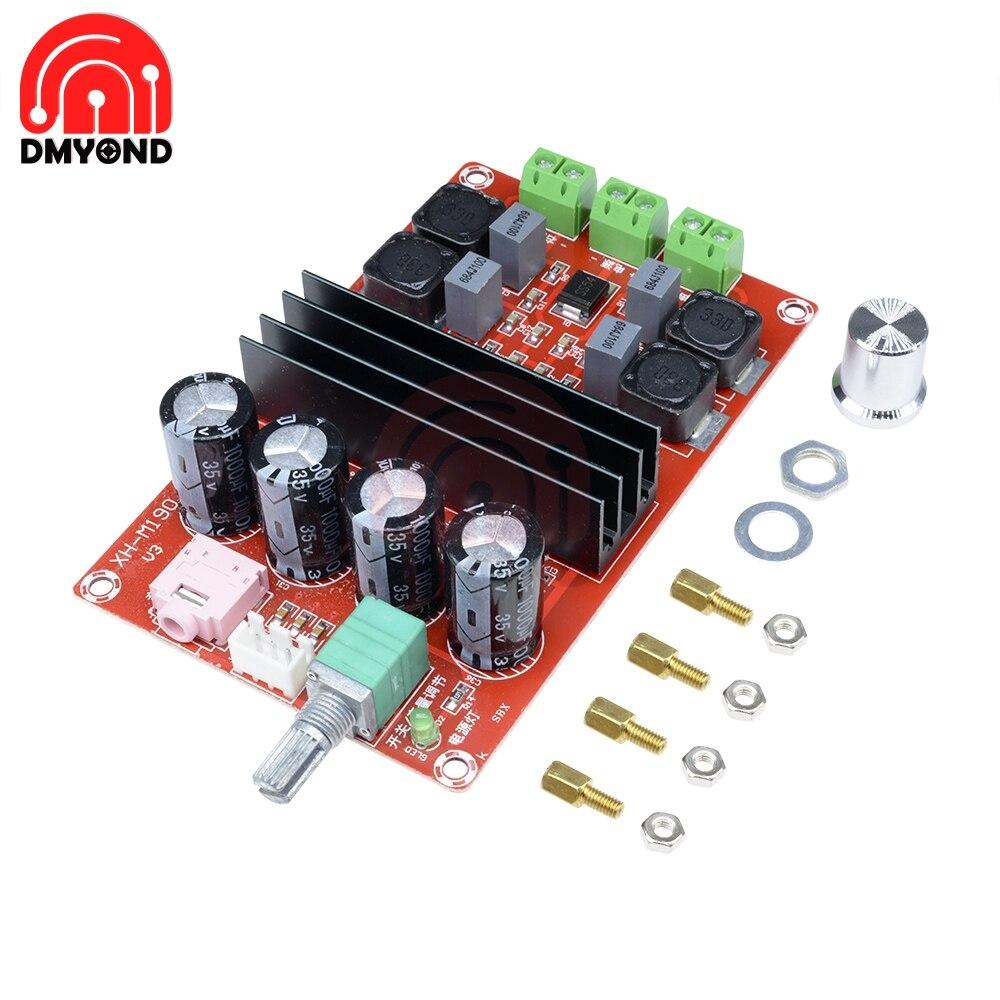 Плата усилителя TPA3116, цифровая модель TDA3116D2, плата высокомощного цифрового усилителя TPA3116, двухканальный модуль усилителя звука