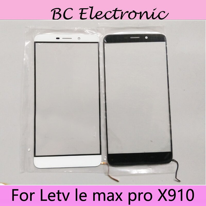 Для Letv le max pro X910, переднее внешнее стекло для ремонта объектива, сенсорный экран, внешнее стекло для Letv le max pro X910