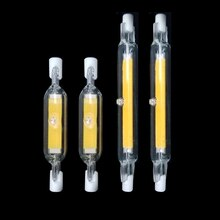 LED R7S verre Tube COB ampoule 78mm 4W 118mm 8W R7S maïs lampe J78 J118 remplacer halogène lumière 15W 30W AC 220V 230V Lampadas