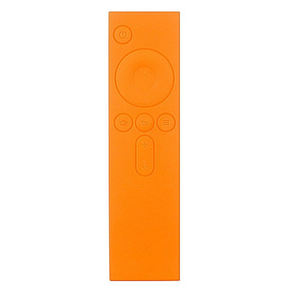 Funda protectora de silicona suave TPU a distancia funda de goma colorida para Xiaomi Control remoto mi TV Box ~