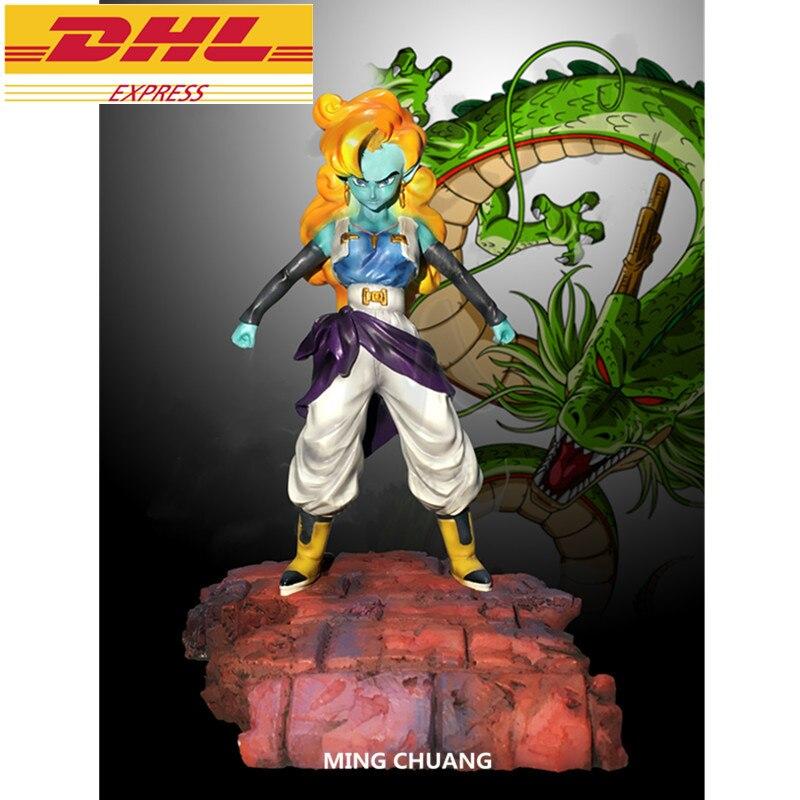 Estatua de Dragon Ball Z Zangya busto BoJack Heeler Krillin enemigo de longitud completa retrato de resina figura de acción juguete de modelos coleccionables D520