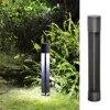Lampe led double face en aluminium avec technologie COB éclairage d'extérieur luminaire de paysage idéal pour une pelouse un jardin un sentier ou une cour 12/220/110V