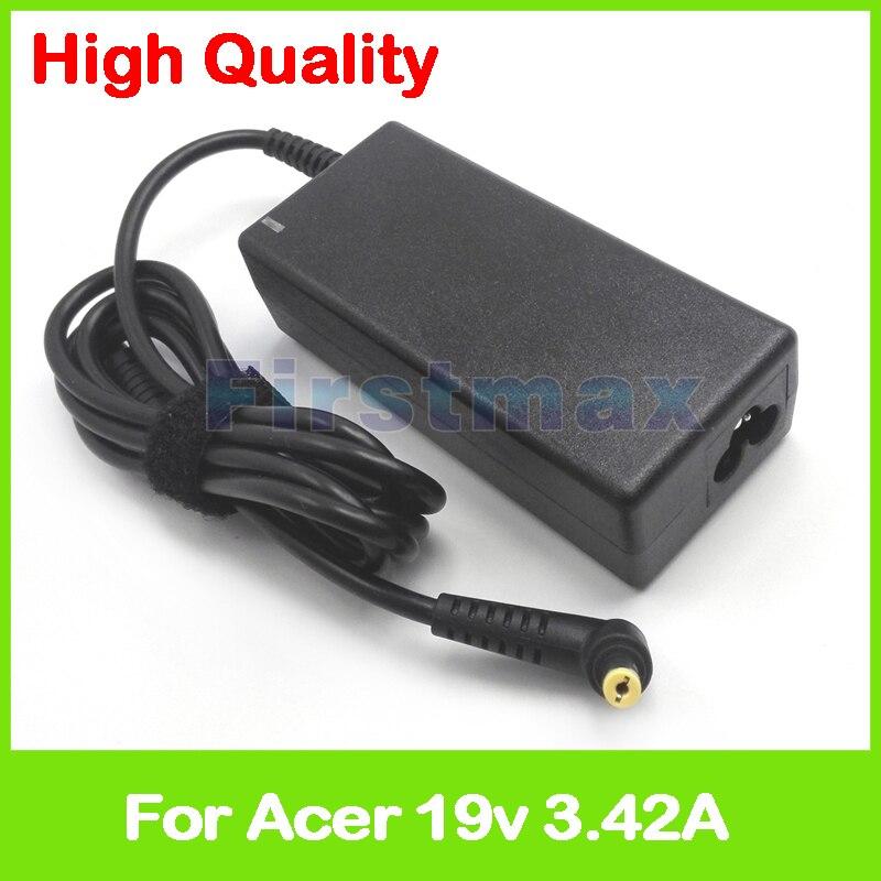 19V 3.42A ac adaptador de cargador del ordenador portátil para Acer Aspire...