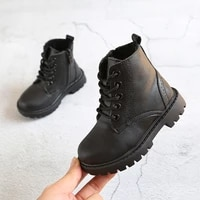 ulknn 2020 toddle baby girls snow boots kids winter martin boots boys warn plush school shoes children ankle boot non slip shoes