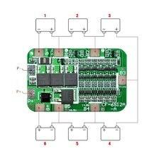 1 шт. Новое поступление 6S 15A 24V PCB BMS Защитная плата для 6 упаковок 18650 литий-ионная литиевая батарея сотового модуля