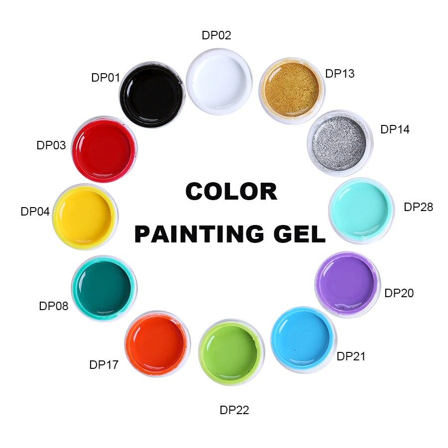 Verniz de verniz de verniz de verniz de verniz de gel monasi 36 cores embeber uv led pintura de gel diy arte do prego