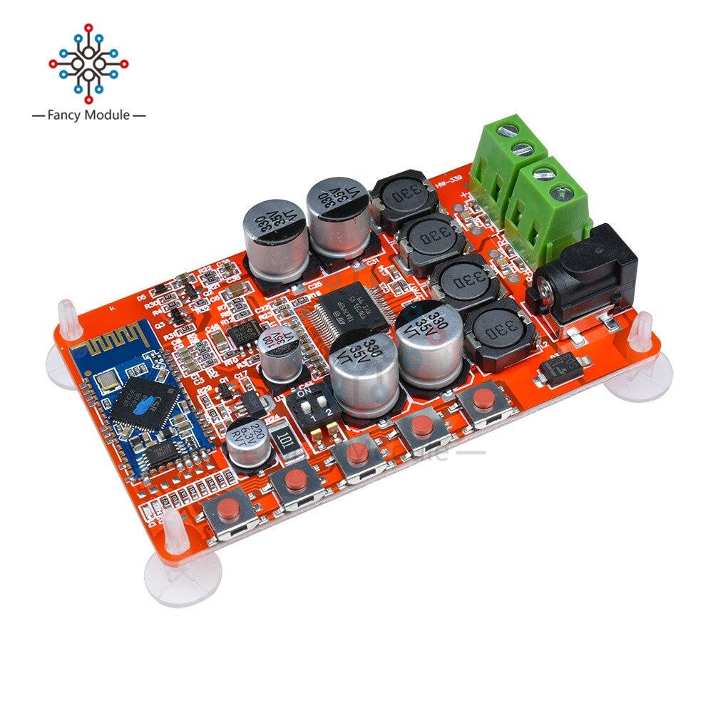Receptor de Audio Digital TDA7492P, amplificador de potencia HIFI inalámbrico con Bluetooth...