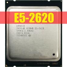 Intel Xeon E5-2620 E5 2620 2.0 GHz Six-Core Twelve-Thread CPU Processor 15M 95W LGA 2011 Free Shipping