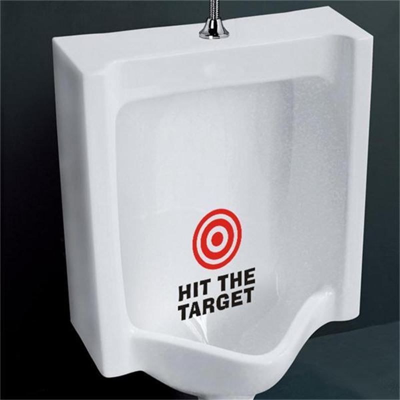 Adhesivo de vinilo para letrero de baño con diseño creativo para tienda, oficina, casa, café, Hotel, baños, decoración de puerta