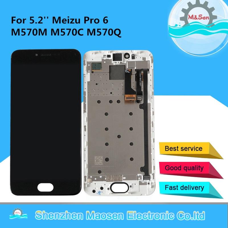 Дисплей M & Sen для Meizu Pro 6, M570M, M570C, M570Q, 5,2''