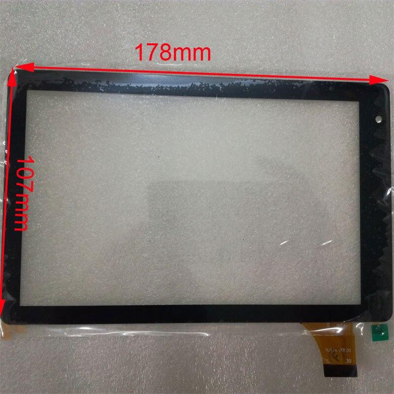 10 unids/lote 7 pulgadas RJ916-FPC-V1.0 RJ916 VER.00 para tableta pc pantalla táctil digitalizador cristal sensor de repuesto