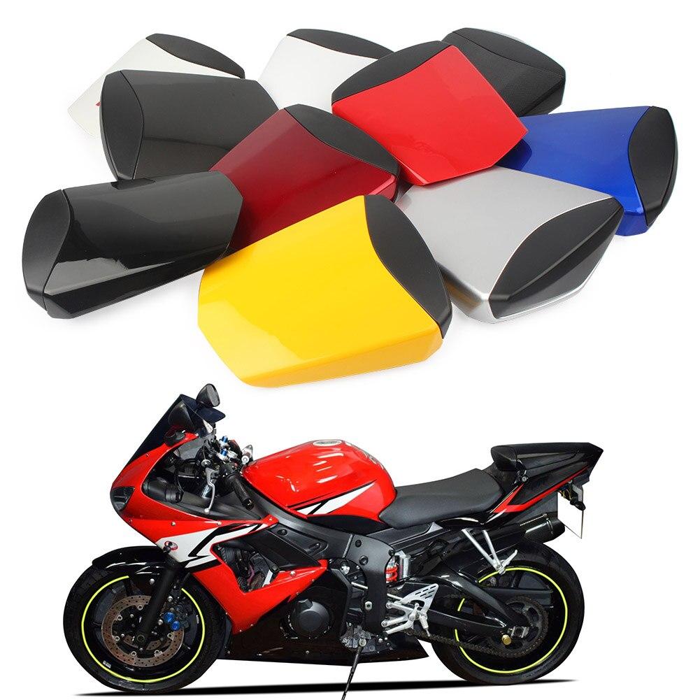 Couvercle de siège de moto pour Yamaha   Couverture de siège, Pillion arrière de passager, carène de protection pour Yamaha YZF R6 2003 2004 2005