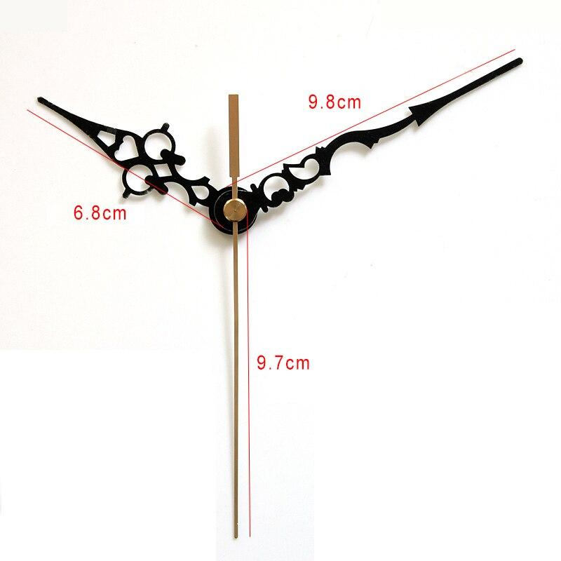 100sets S Shaft Clock Hands 19# DIY Clock Hands Metal Aluminum Material Quartz Clock Accessory High quality DIY Clock kits