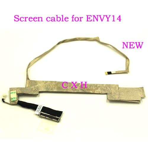 "Nuevo Cable LCD de pantalla de vídeo para HP Envy 14-1000 14-1200 Serie 14 ""LVDS, pantalla LED, CABLE flexible de vídeo 6017B0257601"