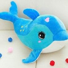 30CM wysokiej jakości Kawii pies delfiny poduszka lalka pluszowe zabawki delfiny lalki dla dzieci chłopcy dziewczęta urodziny prezent na boże narodzenie
