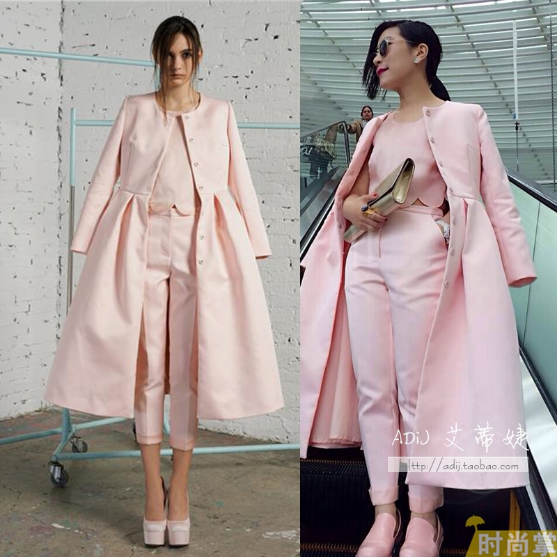 Desigual Promotion Real Skirts 2014 Spring Yanerwo Annankiki Medium-long Overcoat, High-end Atmosphe