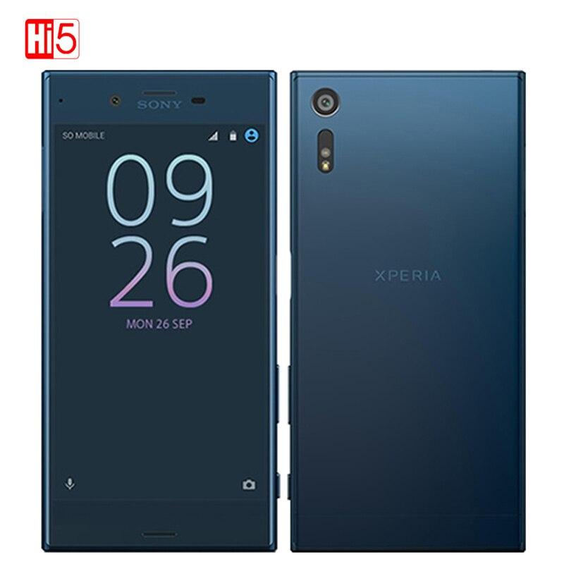 "Desbloqueado Sony Xperia xz F8331/F8332 3GB RAM 32GB ROM WIFI huella dactilar 2900mAh 4G LTE GSM Android Quad Core 5,2 ""IPS 23MP teléfono"
