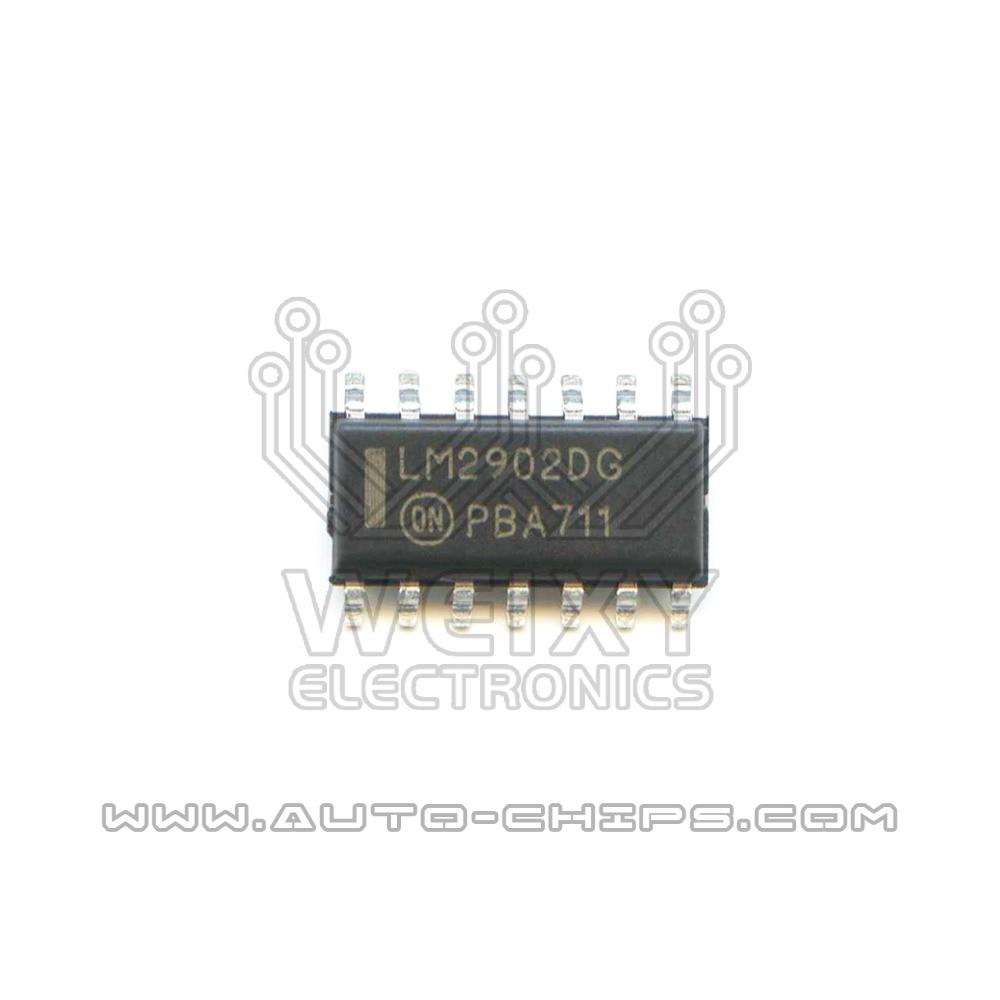 Uso da microplaqueta lm2902dg para automóveis