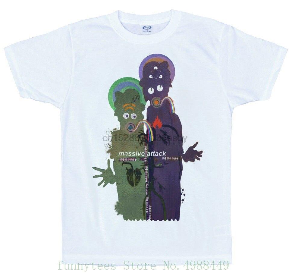 Atlas Air T Shirt Design  Heligoland  Massive Attack O-neck Oversize Style Tee Shirts Styles