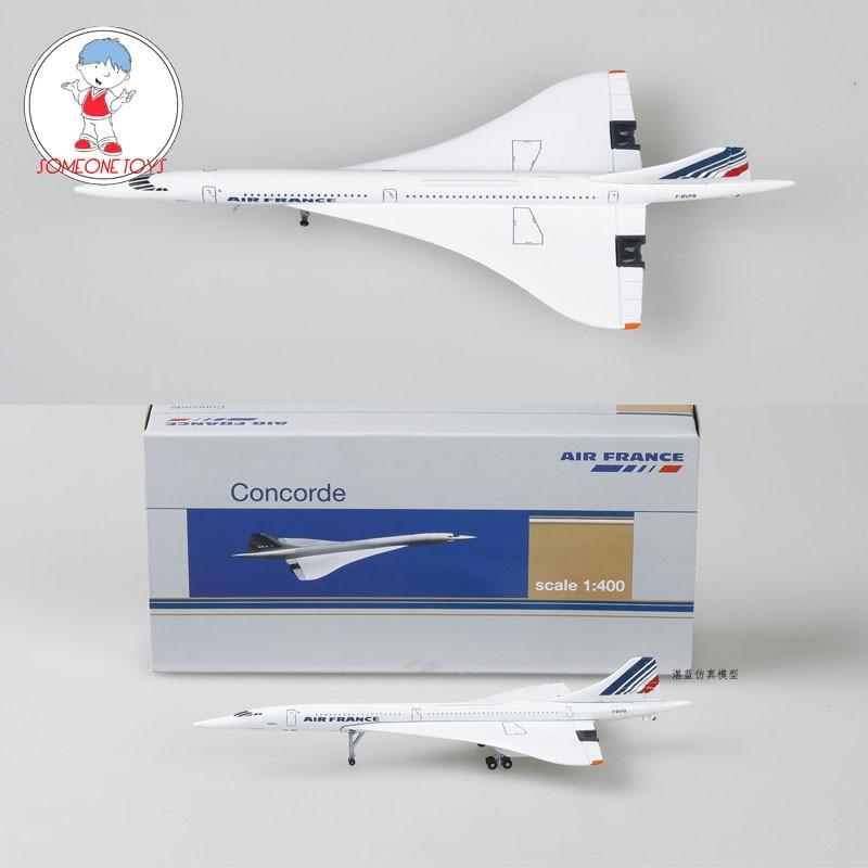 1/400 Concorde Air Франция модель самолета 1976-2003 Airliner сплав литья под давлением детская коллекция воздушная игрушка в виде самолета подарок
