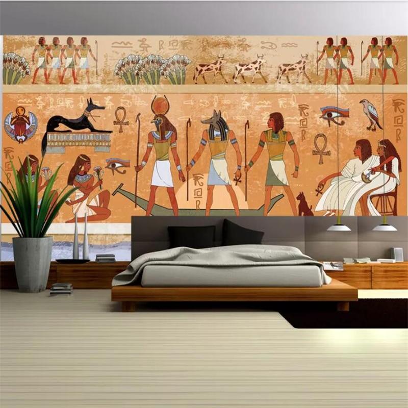 Фото - wellyu  papel de parede para quarto Custom wallpaper  Ancient Egyptian backdrop  wall papers home decor  photo wallpaper ernest alfred thompson wallis budge ancient egyptian literature