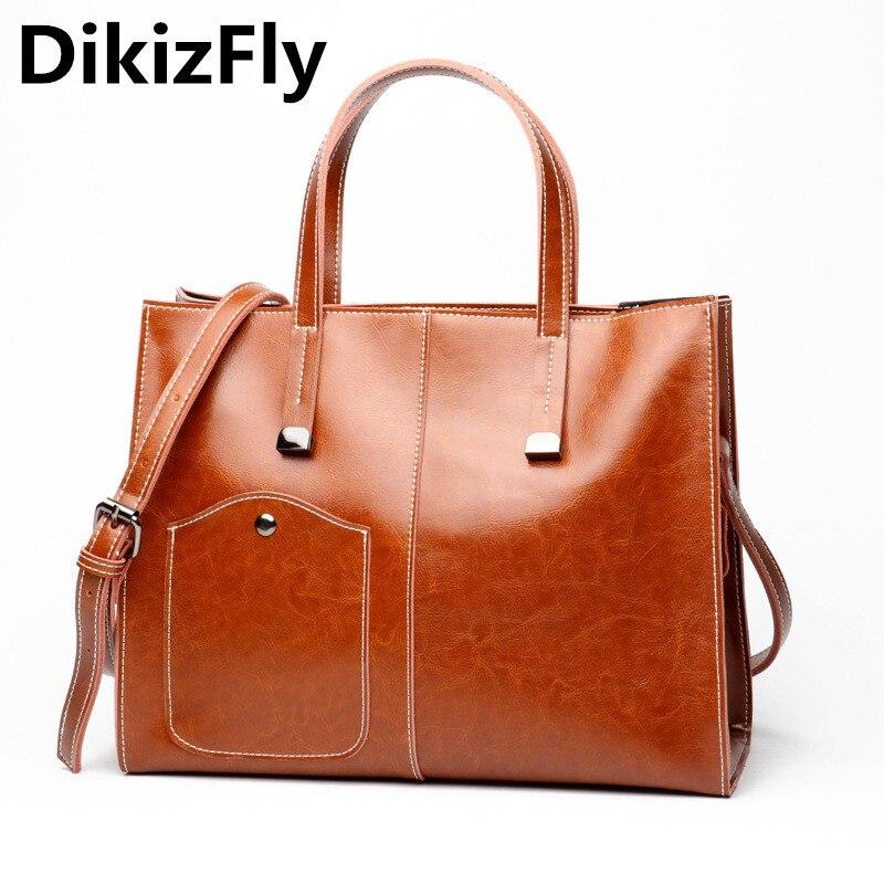 DikizFly, bolsos de mano para mujer de estilo europeo y americano, bolsos de mano de alta capacidad, bolsos cruzados para mujer, sólido Normcore bolso de mano, bolso