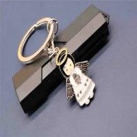 catholic charm cartoon angel key chain charm mini angel key chain jewelry gift cartoon angel key chain motorcycle key chain