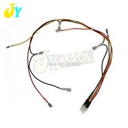 Fio terminal do conector de 10 pces 4.8mm para o joystick de sanwa da relação de 5 pinos ao fio zippy do chicote de fios da arcada do cabo do joystick