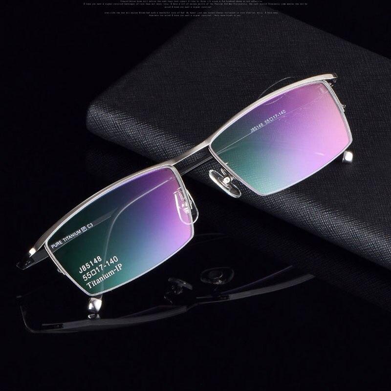 إطارات نظارات ماركة التيتانيوم النظارات الإطار النساء الرجال 2018 الكمبيوتر الرجعية قصر النظر النظارات البصرية oculos دي غراو lunette دي فيو