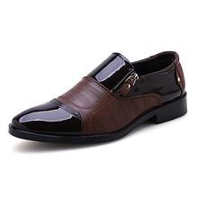 Sapatas de Vestido dos homens Da Moda Marrom Preto Casamento Do Projeto Padrão de Couro Dos Homens sapatos de Negócios Formais Sapatos de Couro Homens Sapatos Oxford