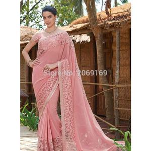 Evening Dress India 2020 Robe De Soiree Pink Evening Dress Formal Vestidos De Festa Lace Evening Gowns Long Party Gown
