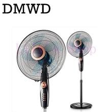DMWD della Famiglia ventilatore elettrico di aria in piedi ventilatore muto eccellente Pavimento Ventole studente dormitorio camera da letto verticale a tempo di ventilazione di raffreddamento