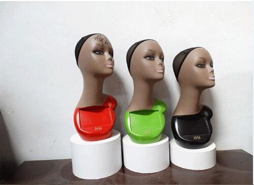 Freies Verschiffen!! neue Beste Qualität Weibliche Lebensechte Kopf Schaufensterpuppe Weiblichen Kopf Modell Modische Auf Verkauf