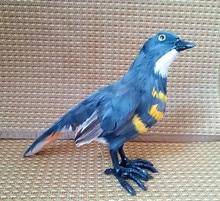 Simulation cuckoo bird polyethylene&furs cuckoo bird model funny gift about 18cmx22cmx10cm