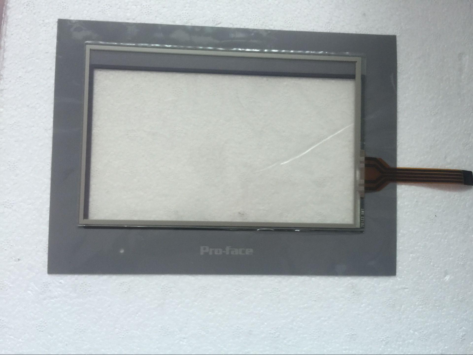 PFXGE4408WAD/GC-4408W 7 بوصة تعمل باللمس الزجاج + غشاء فيلم ل HMI لوحة إصلاح ~ تفعل ذلك بنفسك ، دينا في المخزون