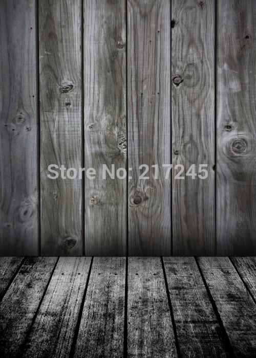 Art Fabric Photography Backdrop Wood Floor Custom Photo Prop backgrounds 5ftX7ft D-2074