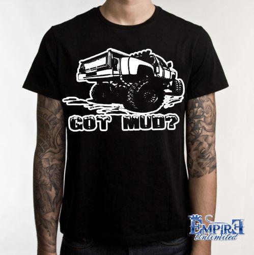 2019 camiseta camisetas con patrón fractal de cuatro ruedas Tee barro o cállate bonita camiseta carretera 4X4 camión Teet camiseta sudaderas con capucha