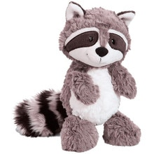 55cm Kawaii Raccoon Plush Toy Lovely Raccoon Cute Soft Stuffed Animals Doll Pillow For Girls Childre