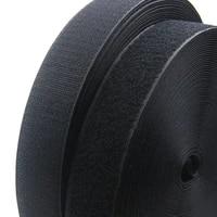 1meterpair 162025303850100mm adhesive hook and loop fastener tape no glue velcros adhesive sewing on strips magic tape