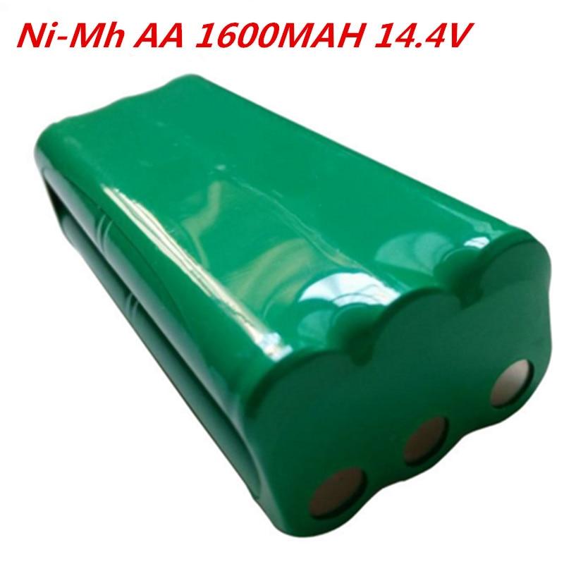 AA 14.4 فولت 1600mah ni-mh بطارية قابلة للشحن حزمة fo Papago S30C ذكي مكانس كهربائية للكنس VONE T285D مكنسة كهربائية البطارية