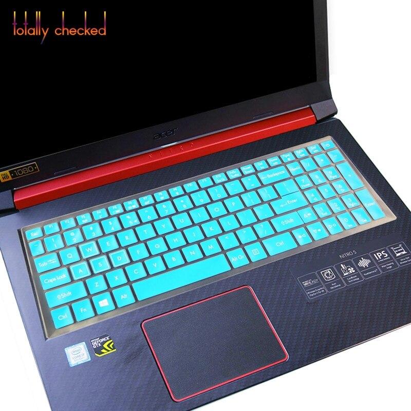 """Защитный чехол для клавиатуры защитная пленка для 15,6 """"Acer NITRO 5 AN515-52 AN515 AN5 VX 15 VX5-591G V 17 игровая VN7-793G 17,3"""